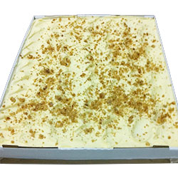 Carrot and walnut slab - 40 cm x 30 cm - serves up to 35 thumbnail