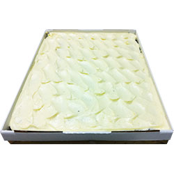 Red velvet slab - 40 cm x 30 cm - serves up to 35 thumbnail