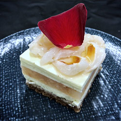 Rose and lychee slice thumbnail