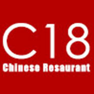 C 18 Asian Food Store logo