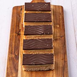 Gluten free caramel slice thumbnail