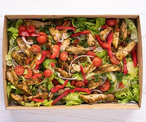 Grilled Chimichurri chicken and avocado salad thumbnail