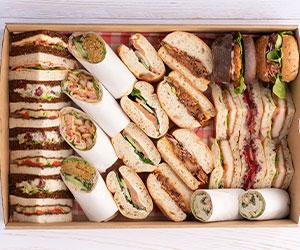Mixed bread sandwiches thumbnail