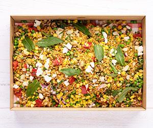 Moroccan brown rice salad thumbnail