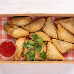Spinach cheese parcels - mini thumbnail