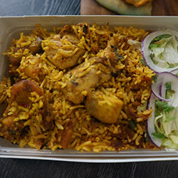Biryani - 500 ml individual box thumbnail