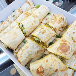 Assorted Kathi rolls platter - serves 8 to 10 thumbnail