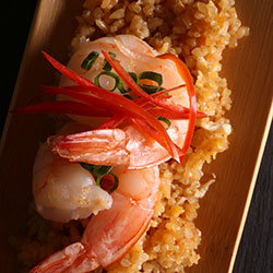Meat and seafood combination classic fried rice thumbnail