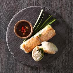 Fresh rice paper rolls platter thumbnail