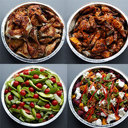 BBQ chicken and salad package thumbnail