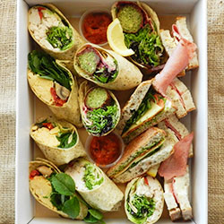Assorted sandwiches and wraps thumbnail