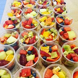 Fresh fruit salad cups thumbnail