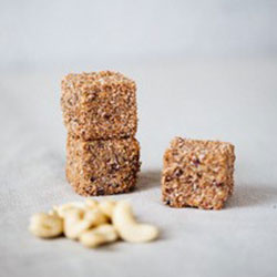 Cashew and coconut power cube thumbnail