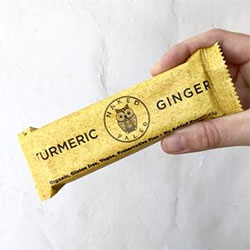 Tumeric ginger naked paleo bar - 65g thumbnail