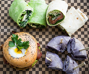 Breakfast bagels and wraps thumbnail