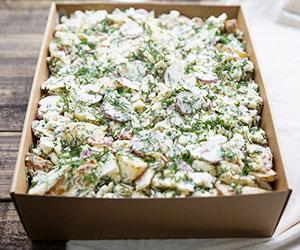 Potato and cauliflower salad thumbnail