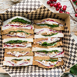 Christmas sandwich thumbnail