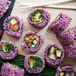Brown rice sushi roll thumbnail