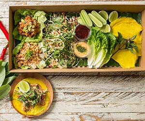 Vietnamese spiced chicken platter - serves 10 guests thumbnail