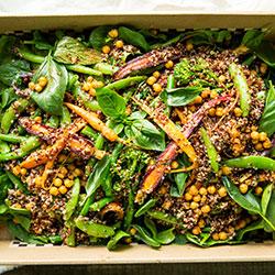 Farmers market quinoa salad thumbnail