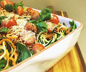Zesty noodle salad thumbnail