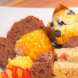 Assorted muffins platter thumbnail