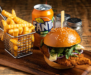 Crispy chicken burger thumbnail