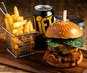 Frankenstein burger thumbnail