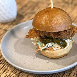 Hot and spicy chicken slider thumbnail