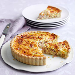 Family sized quiche thumbnail