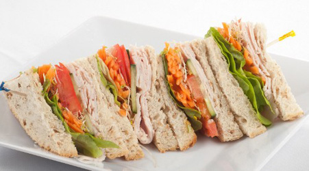 Quartered Sandwiches with Gourmet Fillings thumbnail