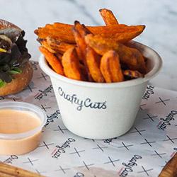 Sweet potato fries - 140g thumbnail