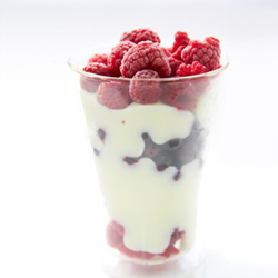 Yoghurt cup with berry coulis - 250ml thumbnail