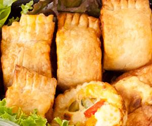 Gourmet sausage rolls - mini thumbnail