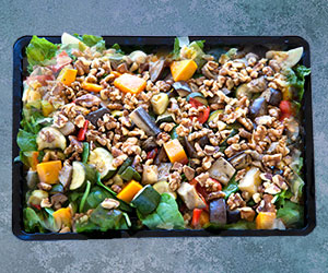 Mediterranean vegetable salad thumbnail