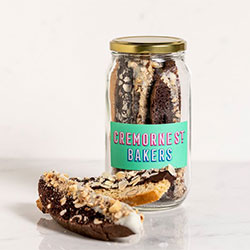 Chocolate dipped biscotti thumbnail