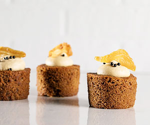 Espresso and pear with hazelnut icing thumbnail