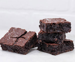 Salted caramel brownie thumbnail
