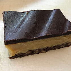 Chocolate caramel slice thumbnail