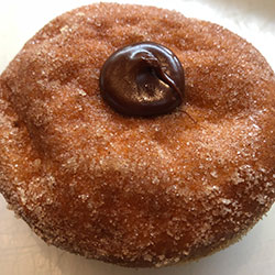 Nutella doughnut thumbnail