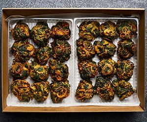 Indian spinach pakora thumbnail