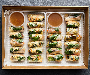 Thai chicken Vietnamese roll thumbnail