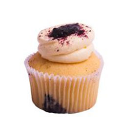 Blueberry pie cupcake thumbnail