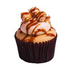 Butterscotch popcorn cupcake thumbnail