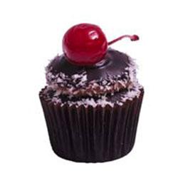 Cherry ripe cupcake thumbnail