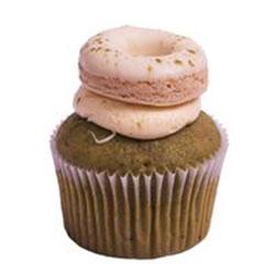 Matcha donut cupcake thumbnail
