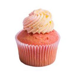 Peach melba cupcake thumbnail