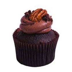 Pecan pie brownie cupcake thumbnail