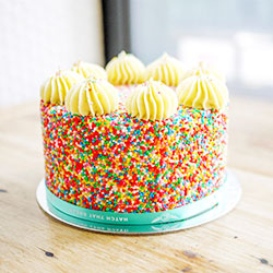 Birthday cake - serves 12 to 15 thumbnail
