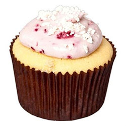 Raspberry white chocolate cupcake thumbnail